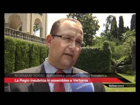 Regio Insubrica in assemblea a Verbania