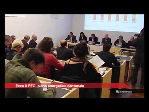 Presentato il piano energetico cantonale PEC