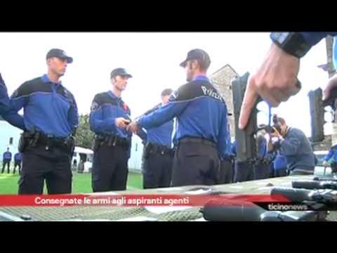 Consegna dell'arma d'ordinanza SCP2013