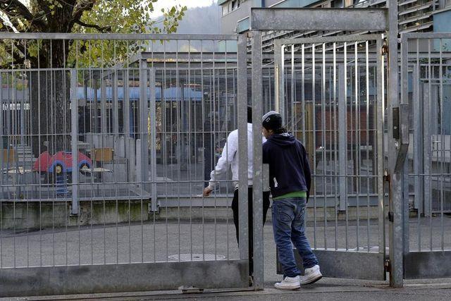 Container für renitente Asylbewerber
