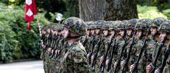Numerosi vantaggi dell'Esercito svizzero