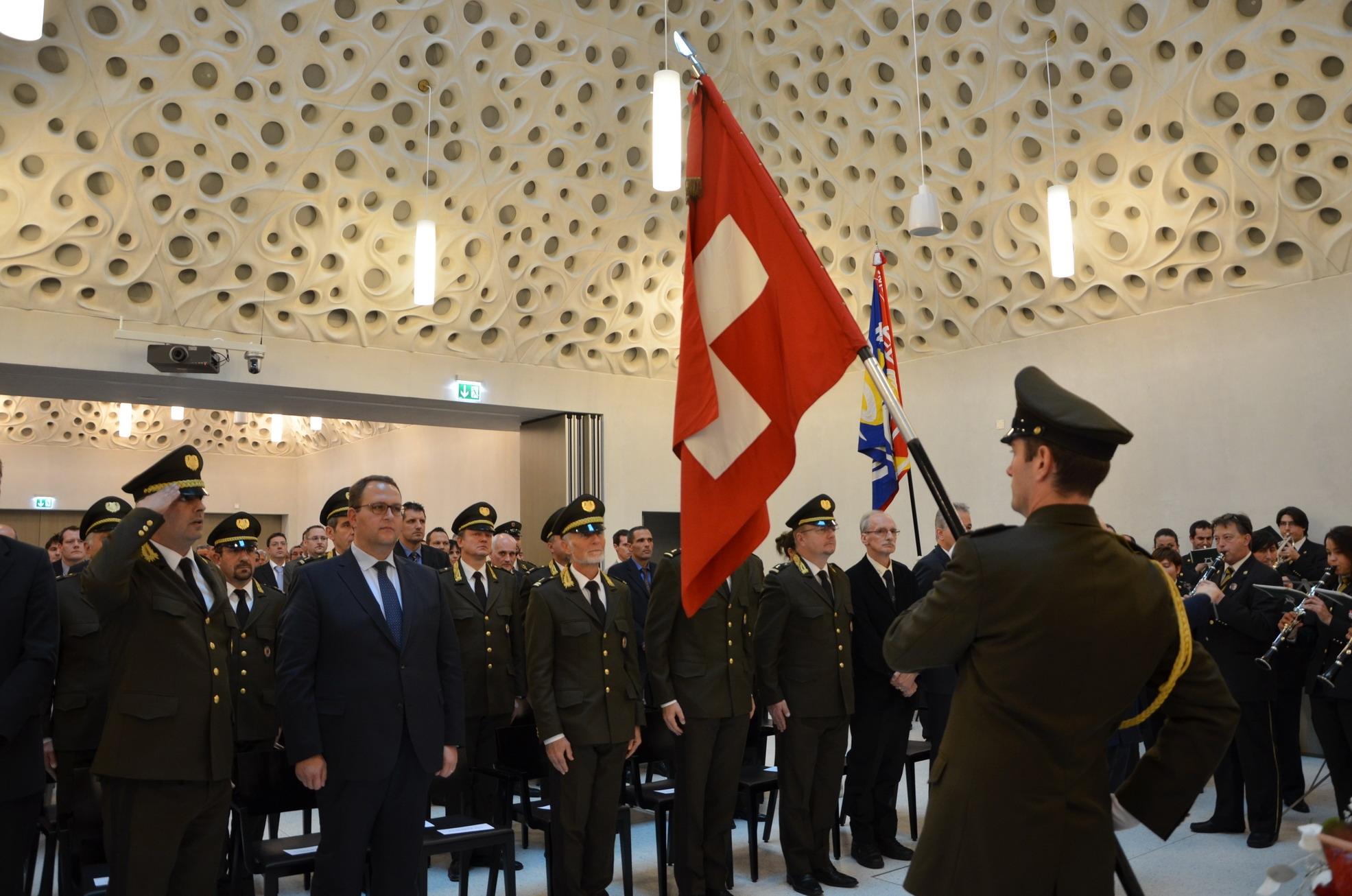 La Polizia cantonale festeggia