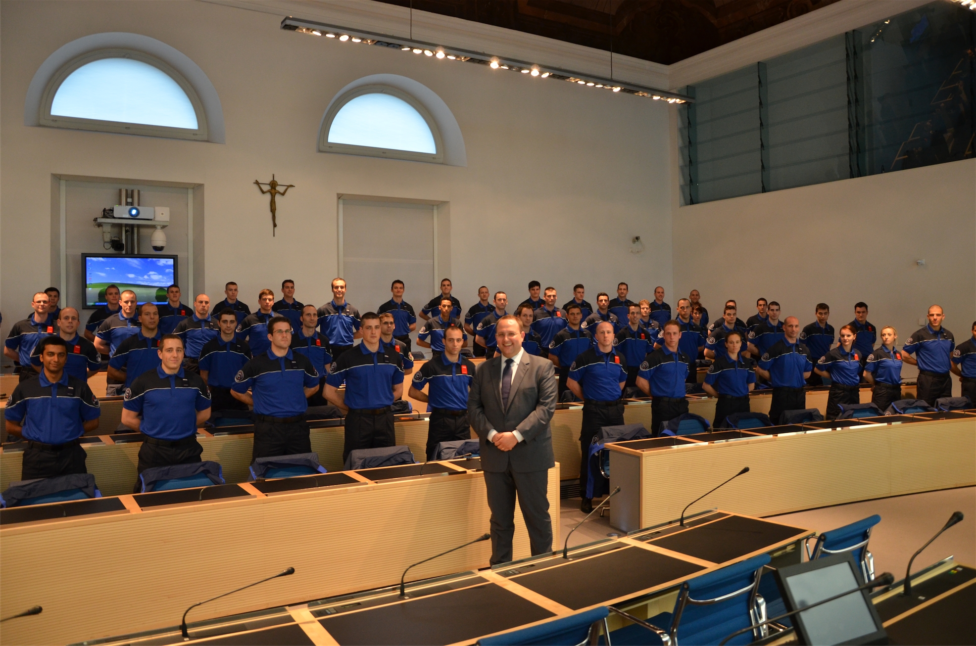 Incontro con gli aspiranti della Scuola Cantonale di Polizia 2013