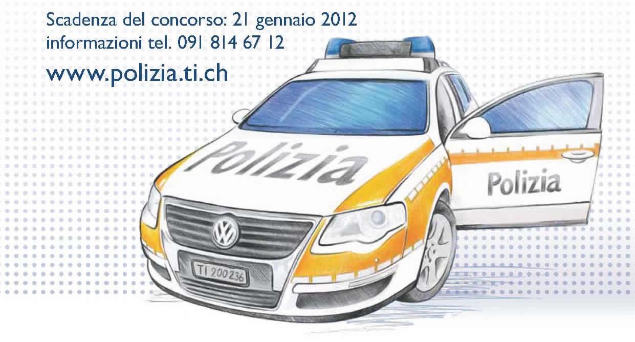 Scuola Cantonale di Polizia 2013, pubblicato il bando di concorso