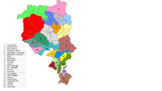 Piano cantonale delle aggregazioni (PCA): avviata la consultazione in due fasi