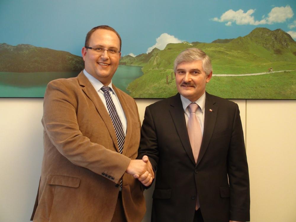 Visita di cortesia di rappresentanti diplomatici della Federazione Russa