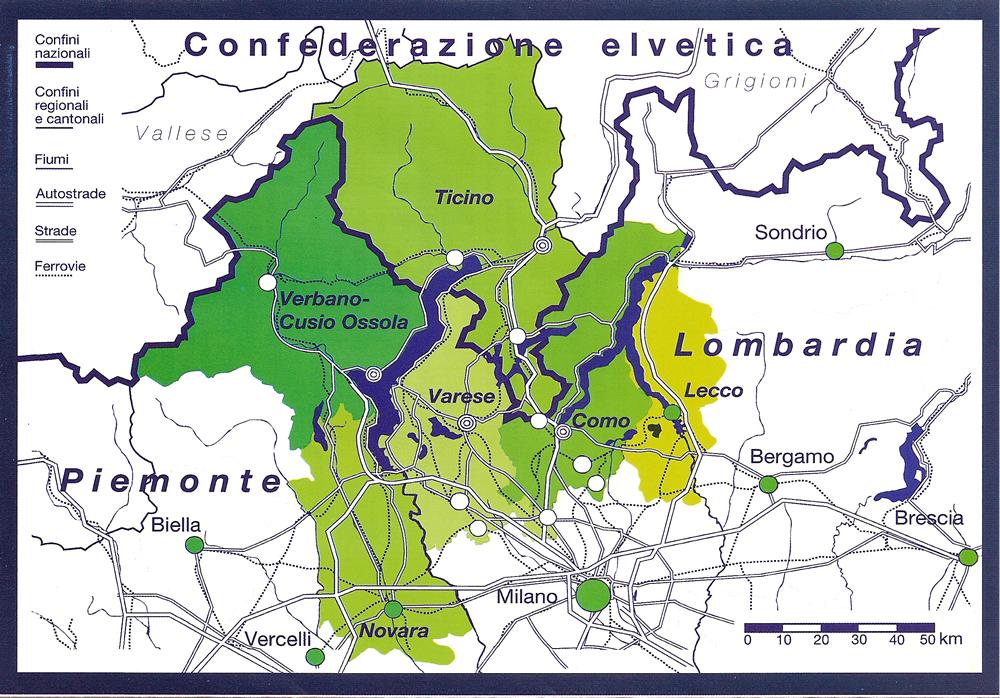 Al Ticino più peso nella Regio Insubrica