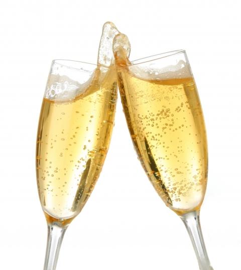 Risotto allo champagne… abbondante