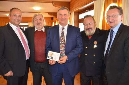 Direttore AgenziaTelecomunicazioni e Poste russe in visita nel Canton Ticino