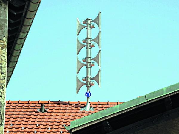 Prova annuale delle sirene della Protezione civile: mercoledì 5 febbraio 2014 allarme generale e allarme acqua